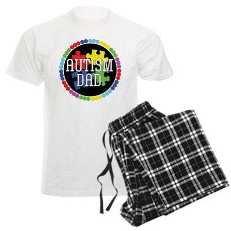Autism Dad Men's Light Pajamas