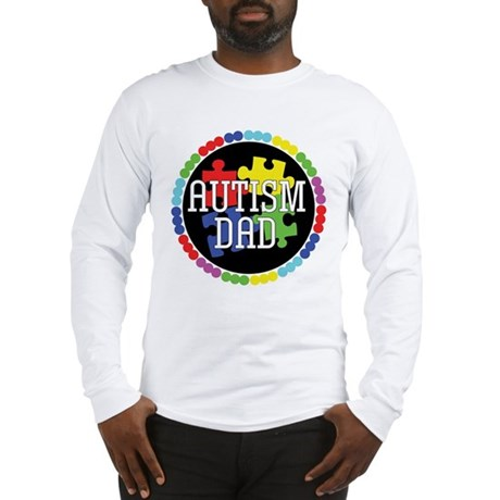 Autism Dad Long Sleeve T-Shirt