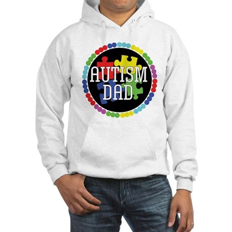 Autism Dad Hooded Sweatshirt