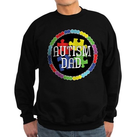 Autism Dad Sweatshirt (dark)