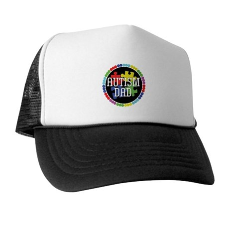 Autism Dad Trucker Hat
