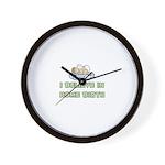 I believe in Home Birth Wall Clock