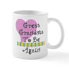 Great Grandma To Be Again Str Mug