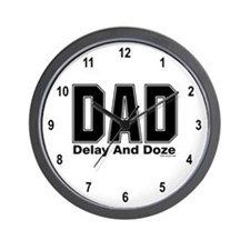 Dad Acronym Wall Clock