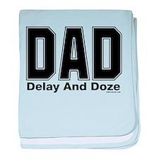 Dad Acronym baby blanket