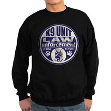 In Dogs We Trust K9 Unit Blue Sweatshirt