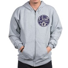 In Dogs We Trust K9 Unit Blue Zip Hoodie