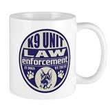 In Dogs We Trust K9 Unit Blue Mug
