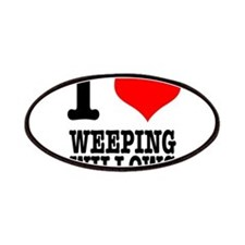 I Heart (Love) Weeping Willow Patches