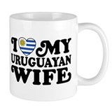 I Love My Uruguayan Wife  Tasse