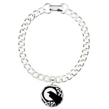 Celtic Raven Moon Bracelet