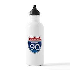 Interstate 90 - Wyoming Water Bottle