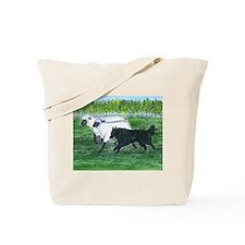 Belgian Sheepdog Herding Tote Bag