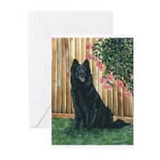 Belgian Sheepdog Happy Greeting Cards (Pk of 20)