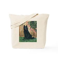 Belgian Sheepdog Happy Tote Bag