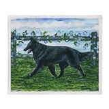 Belgian Sheepdog Patrol Throw Blanket