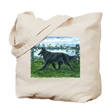 Belgian Sheepdog Patrol Tote Bag