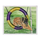 Belgian Tevuren Agility Throw Blanket