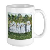 Old english sheep dog Large Mug (15 oz)