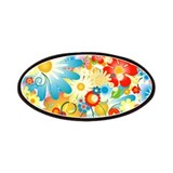 Floral Explosion summer colors Patches