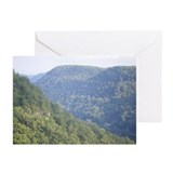 Hawk's Nest State Park Greeting Cards (Pk of 10)