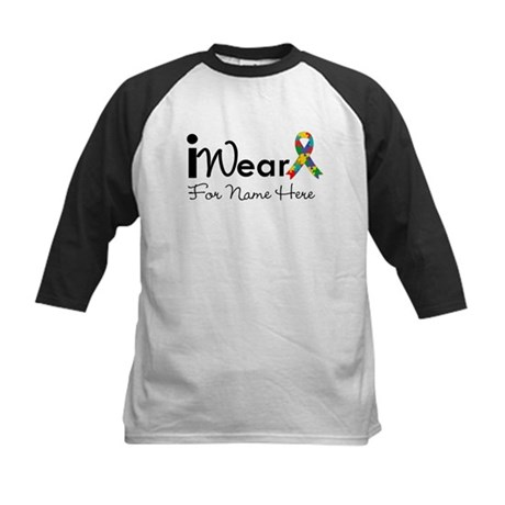 Customize Autism Kids Baseball Jersey