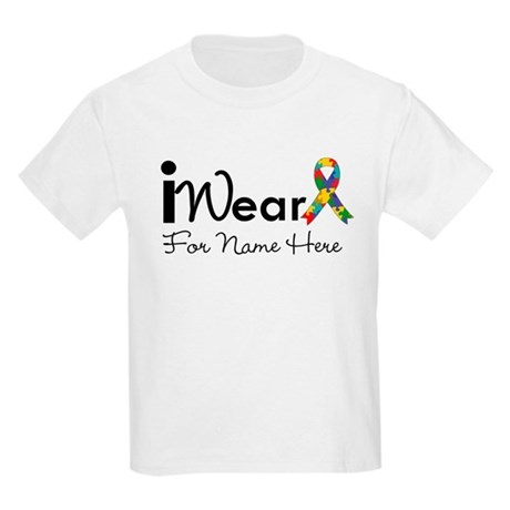 Customize Autism Kids Light T-Shirt