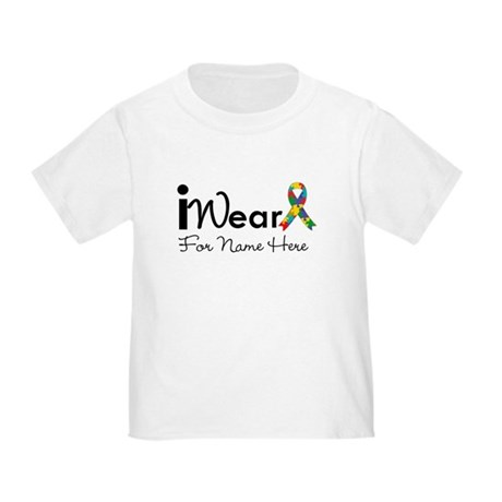 Customize Autism Toddler T-Shirt