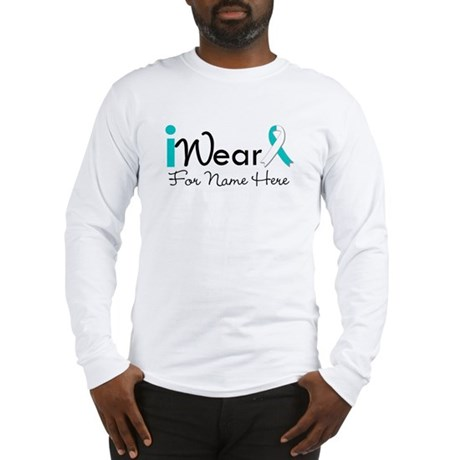 Personalize Cervical Cancer Long Sleeve T-Shirt