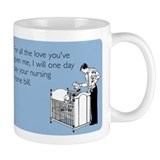 Nursing Home Bill Small Mugs