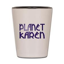 Cute Planet karen Shot Glass