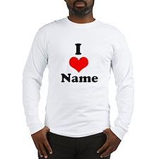 I heart Long Sleeve T-Shirt