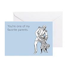 Favorite Parent Greeting Card