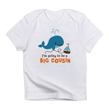 Big Cousin to be - Mod Whale Infant T-Shirt
