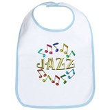 Golden Jazz Bib
