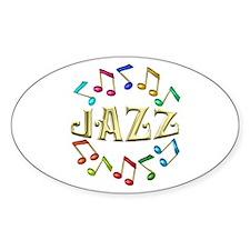 Golden Jazz Decal