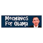 Mechanics for Obama bumper sticker