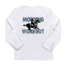 The Morning Workout Long Sleeve Infant T-Shirt