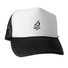 World's Greatest Dad Penguin Trucker Hat