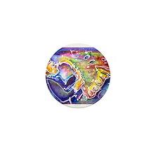 Music, bright, Mini Button (100 pack)