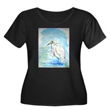 Egret, wildlile art, T