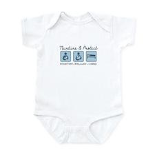 Unique Babywearing Infant Bodysuit