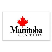 Manitoba Cigarettes Decal