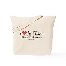 I Heart My Fiancé Tote Bag