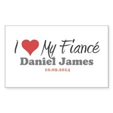 I Heart My Fiancé Decal