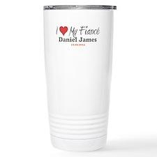 I Heart My Fiancé Travel Coffee Mug