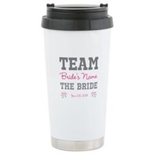 Personalized Team Bride Travel Mug