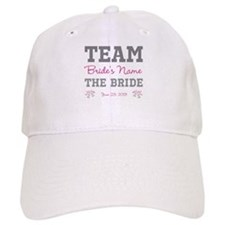 Personalized Team Bride Baseball Cap