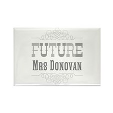 Personalized Future Mrs Rectangle Magnet