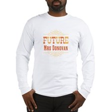 Orange Future Mrs Long Sleeve T-Shirt